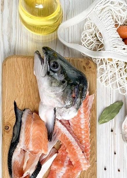Набор для ухи из красной рыбы